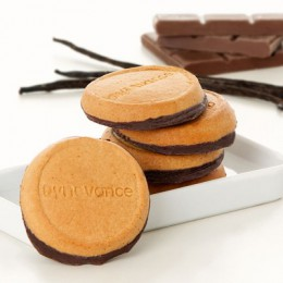 Dynovance - BISCUITS VANILLE SOCLE CHOCOLAT