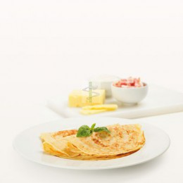 CRÊPE BACON - FROMAGE - Proteifine