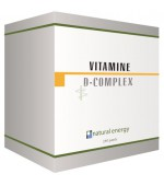VITAMINE D COMPLEX 120 caps - Natural Energy