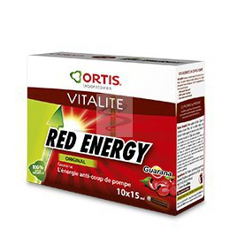 RED ENERGY - 10 fioles de 15ml - Ortis