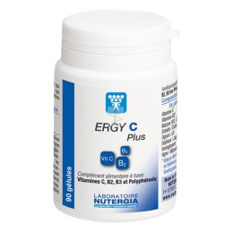 ERGY C PLUS - 90 caps - Nutergia