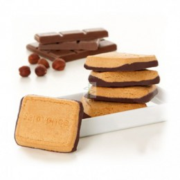 Serovance - BISCUITS NOISETTE SOCLE CHOCOLAT